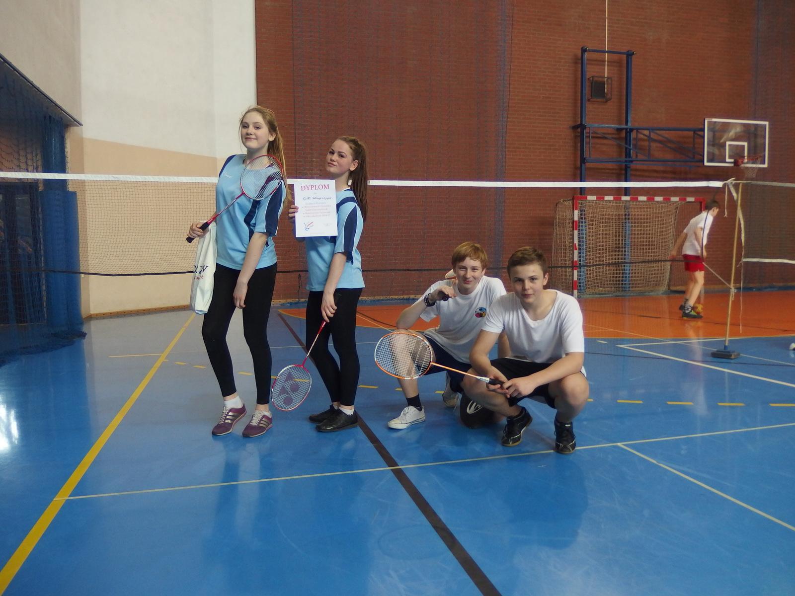 Więcej o: Mistrzostwa Chorzowa w Badmintonie
